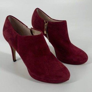 Vince Camuto Cranberry Ankle Heeled Ankle Boot